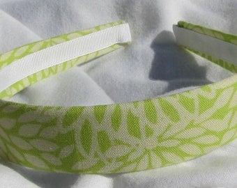 Lime Green Floral Headband Hair Band