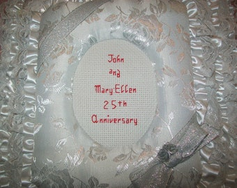 25th WEDDING ANNIVERSARY Personalized Photo Album / Scrapbook