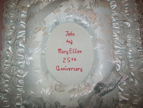 25th WEDDING ANNIVERSARY Personalized Photo Album / Scrapbook
