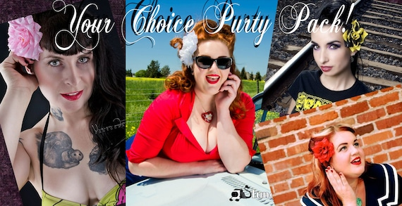 Purty Pack Pinup Roses- Pick Your Favorite