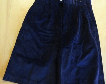 Vintage DEADSTOCK NWT Abercrombie & Fitch Wide Wale Corduroy High Waist Shorts sz 10 W27