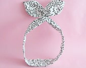 Dolly Bow Headwrap-Music Note