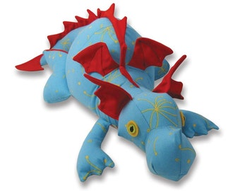 Diggles Dragon Soft Toy Pattern PDF Pattern INSTANT DOWNLOAD