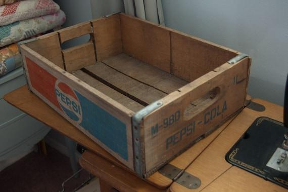 Pepsi Wooden Box