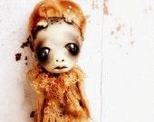 Halloween Decoration OOAK Art Doll Halloween Ornament Demon Squid Baby Bonnie Island of the MisFit Orphans