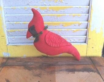 Primitive Christmas Cardinal Jacques