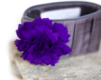 Purple wedding, personalized gifts for bridesmaids