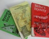 Vintage Gertrude Chandler Warner Books Trio Set The Alden Family Mysteries