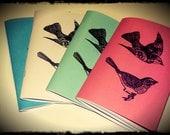 Custom order for Jenn Swartz - x 16 Vintage Birds journal / Notebook