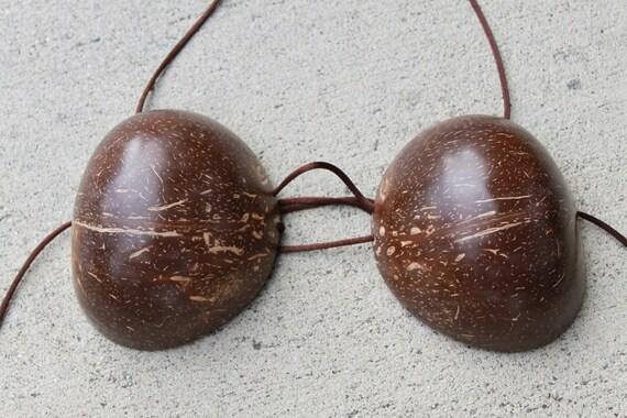 Coconut bra-  large size, coco