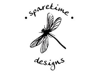 Dragonfly custom rubber stamp