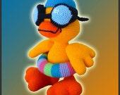 Amigurumi Pattern Crochet Duckie Duck DIY Digital Download