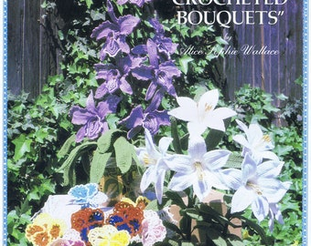 Lady Alice's Crocheted Bouquets pattern book
