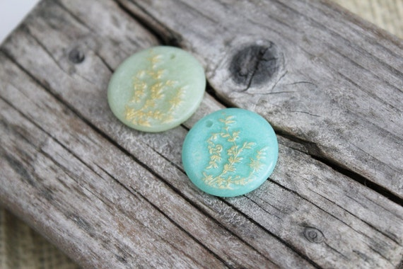 Clearance. Destash polymer clay beads. De-stash. Sale. Beads lot. Project supplies. Cabochons. Pendants.