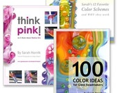 THE COLOR PACK - 3 E-books / Lampwork Tutorials - Think Pink, 100 Color Ideas and Favorite Color Schemes for a Special Sale Price