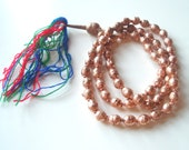 Ethiopian Prayers - a vintage strand of African Trade Beads - 34 inches, 65 beads