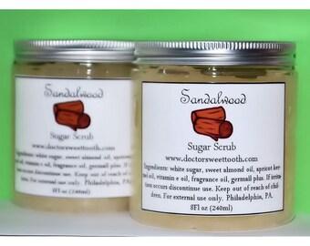 Sandalwood Sugar Scrub (Paraben Free)