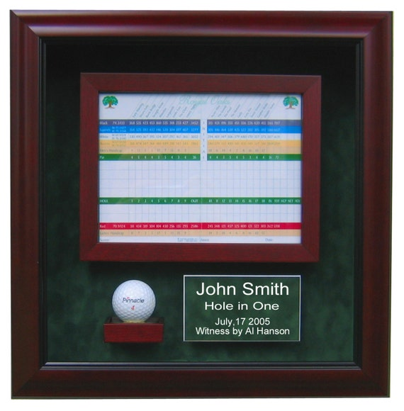 Hole in One Golf Display Case