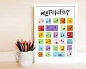 Elephabet Poster