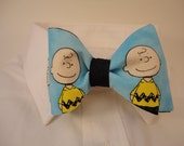 Charlie Brown Fabric Bow Tie