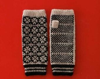Hand Knit Wrist Warmers - Japanese Pattern Book