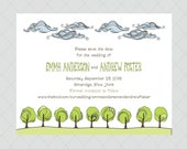 Nature Wedding Save the Dates