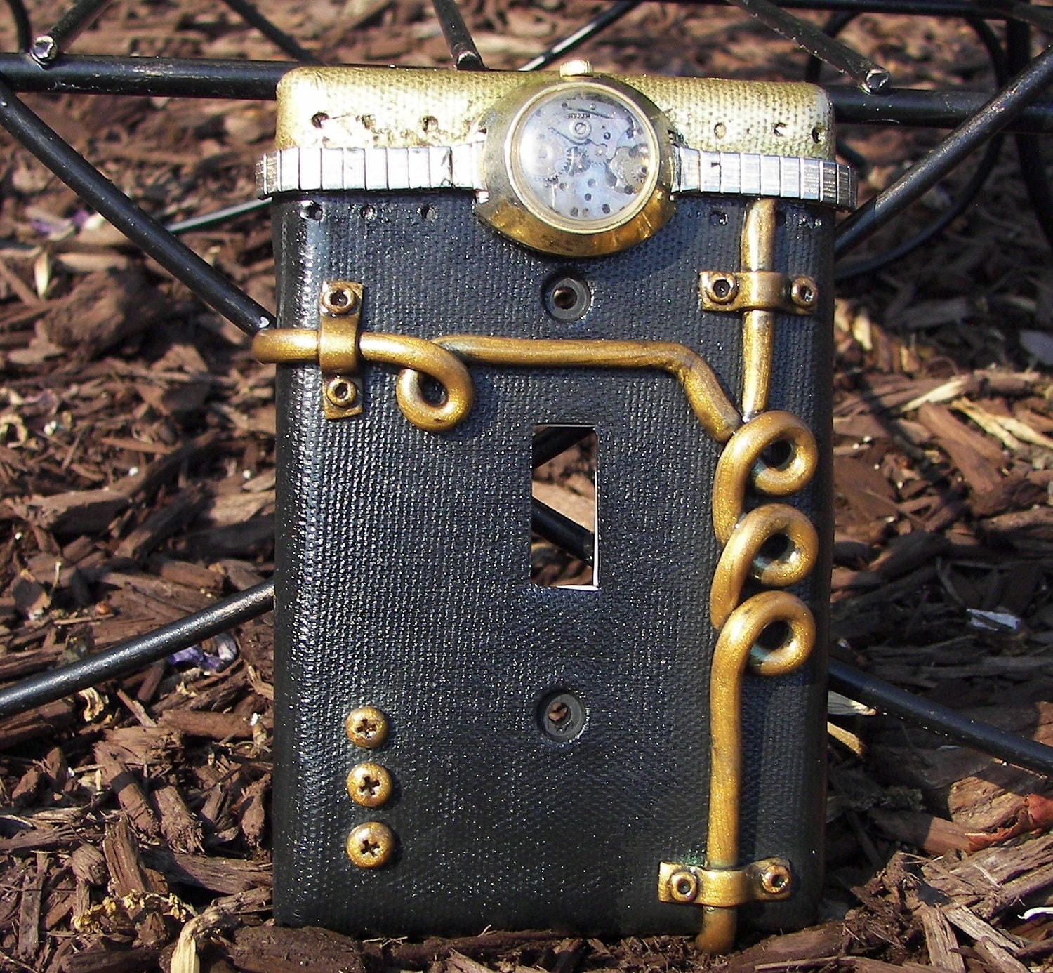 Steampunk Steam Punk Light Switch Plate Switchplate Cover