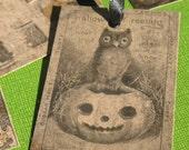 Eerie - Halloween Gift Tags