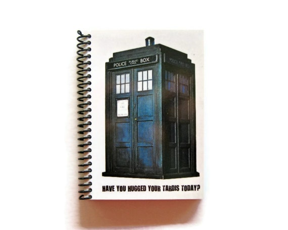 Tardis - Doctor Who - Notebook Spiral Bound - 4 x 6 in