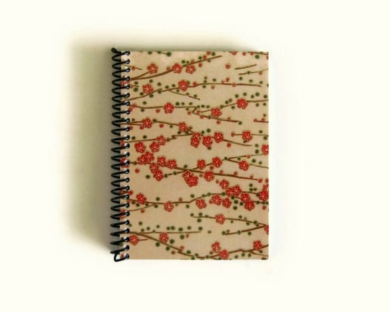 Spring Blossoms - Notebook Spiral Bound - 4 x 6 in