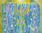 Prophetic Message Sketch Painting 26- Elohim Elohim Latter Rain
