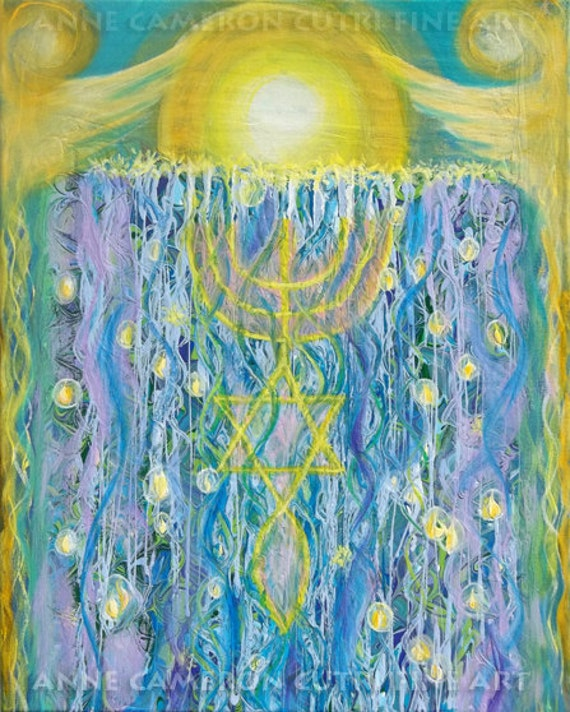 Prophetic Message Sketch Painting 26- Elohim Elohim Latter Rain