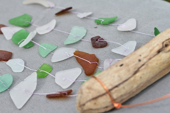 Sea Glass Suncatcher Windchimes