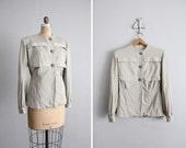 1940s vintage Rothmoor gabardine wool jacket