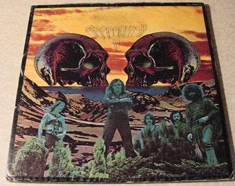 Steppenwolf LP 7, seven - vintage vinyl record album // 1972 old music format 33 1/3 RPM classic tunes
