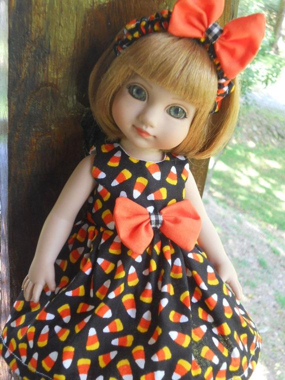 CUSTOM ORDER 2 Halloween Doll Dresses