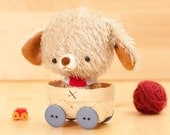 Puppy plushie -  made to order - Pipo