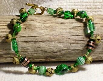Green Goddess Anklet