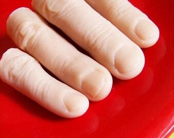 Creepy Finger Soap Set - Finger Soap, Gag Gift, Novelty Soap, Watermelon Scent, Prank Soap, Scary Soap, Creepy Bath, Walking Dead Gift