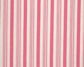 Tanya Whelan's  Barefoot Roses - Legacy Collection, Ticking Stripe in Pink, yard