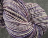 Sparkle Sock Yarn - Merino/Nylon/Stellina - 438 yds - Lavender Field