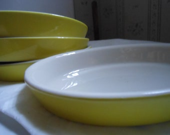 Hall Casserole Dishes - Canary Yellow