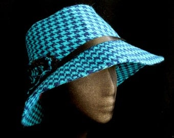 High Crown Fabric Hat