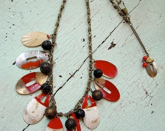Necklace - Repurposed Vintage - Allure