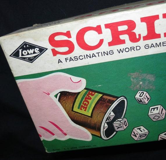 Vintage Scribbage Game