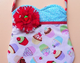 Cupcake Party Treats Purse