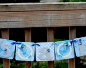 Baby Shower Decoration - It's a Boy banner - party garland - baby boy