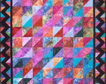 Stitchin Friends Anything Goes Quilt Pattern Fat Quarters