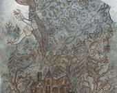 Winter's Cloak - 11 x 17 Print