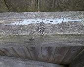 Beetle Totem Tribal Bracelet OOAK